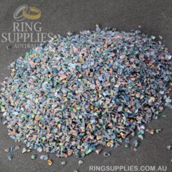 Rainbow Fire Crushed Opal Chips