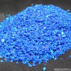 Royal Blue Crushed Opal Chips