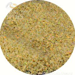 Golden Olive Crushed Opal Chips