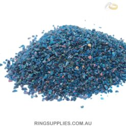 Space Blue Crushed Opal Chips